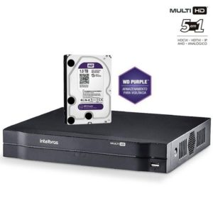 STAND ALONE MULTI-HD INTELBRAS MHDX 1108 C/HD 1TB 40 MBPS 08 CANAIS